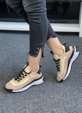Стильні кросівки chanel / преміум якість