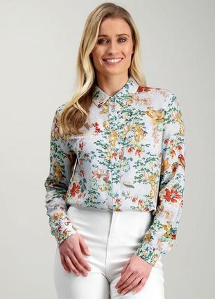 Шикарная блуза рубашка большой размер