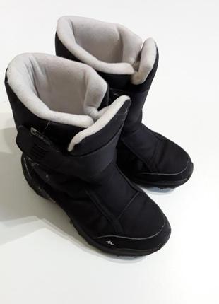 Фигменные термосапожки водонепроницаемые термо ботинки 32р
