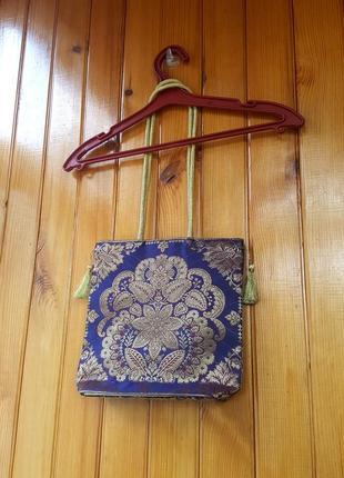 Оригинальная красочная мини-сумочка из индии
