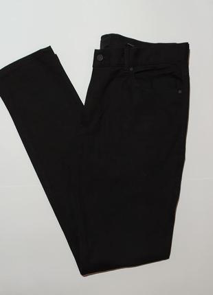 H&m оригинал шикарные чёрные джинсы размер 33 34 180/84а