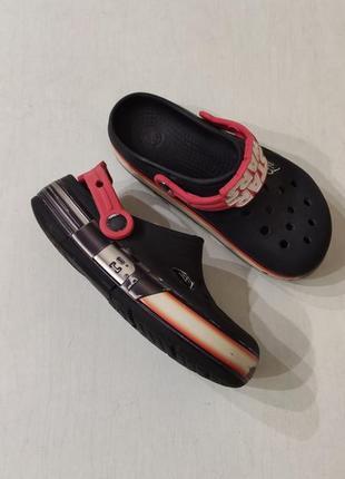 Crocs star wars оригинальные кроксы j1, 31-32 размер