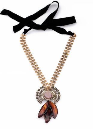 Шикарный чокер ожерелье колье