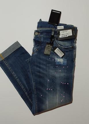 Dsquared2 оригинал новые шикарные джинсы размер 44