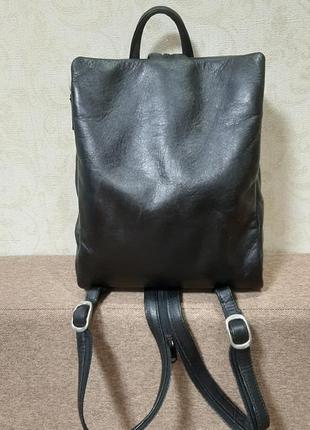 Городской рюкзак сумка натуральная кожа