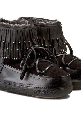 Новые сапоги inuikii, швейцария угги премиум ботинки валенки moon boot зима луноходы
