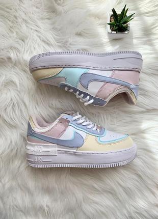 Nike air force shadow glacier blue