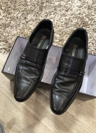 Туфли лаковые кожаные