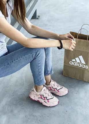 Adidas ozweego шикарные женские кроссовки адидас озвего