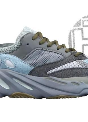 Женские кроссовки adidas yeezy boost 700 teal blue fw2499