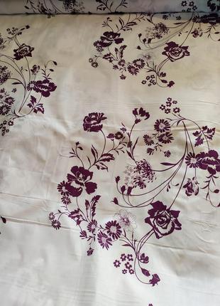 Простыни из бязи - цветы на белом, все размеры, разные расцветки, быстрая отправка