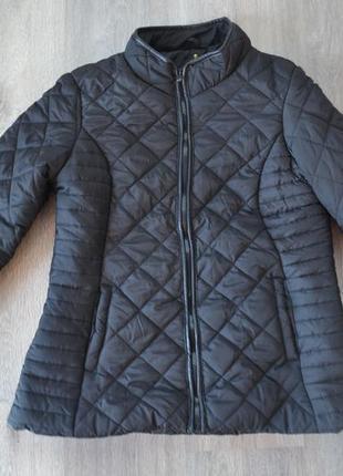 Теплая деми куртка на синтепоне ф. atmosphere р. м-l в новом состоянии