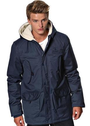 Зимняя куртка hummel 'lincoln' с капюшоном, размер s