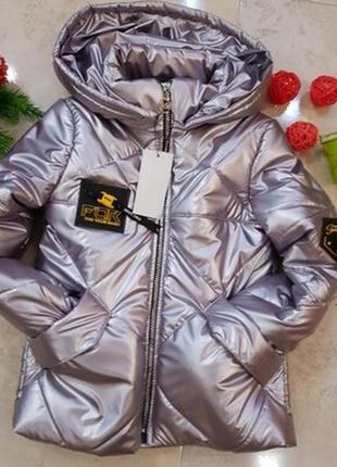Балоновая куртка хамелеон металик