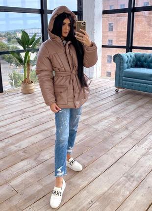 Трендовая курточка из эко-кожи🖤😻