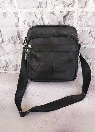 Мужская кожаная сумка чодовіча шкіряна сумочка