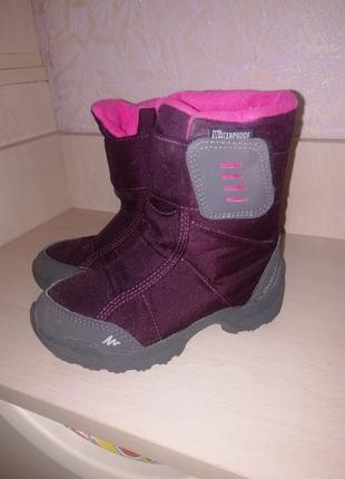 Термо ботинки quechua waterproof