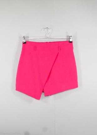 Шикарная розовая юбка - шорты miss selfridge s