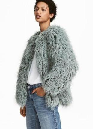 Меховая пиджак курточка