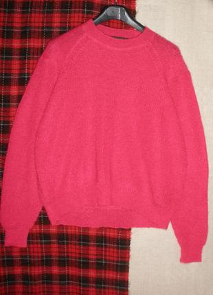 Чудесный объемный мохер шерсть свитер джемпер пуловер drykorn