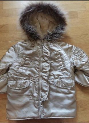 Куртка парка демисезонная или еврозима ladybird на 3-4 года