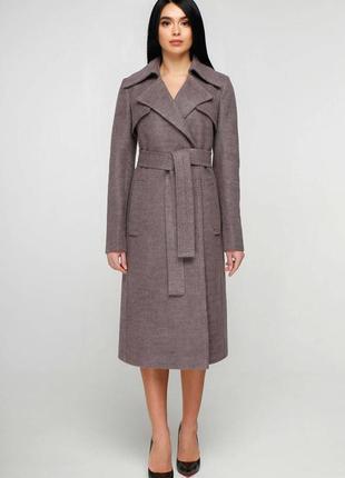 Шикарное шерстяное пальто favoritti