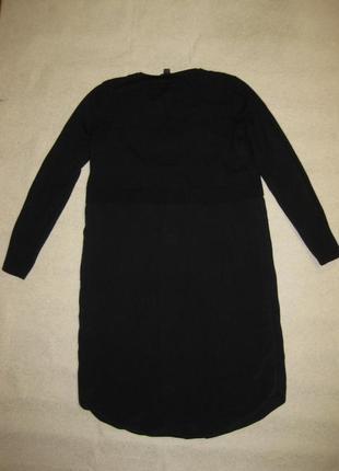 Размер xs-s, крутецкая рубашка-свитер от cos натуральный шёлк и кашемир