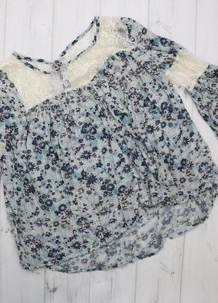 Стильная женская блузка abercrombie&fitch,р.m