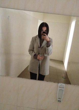 Очень теплое и уютное пальто от h&m