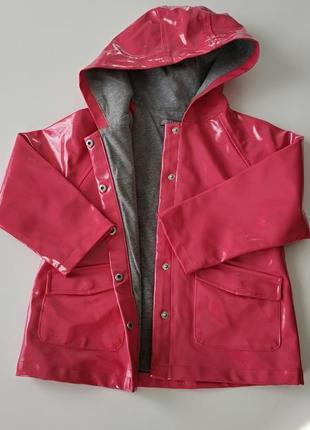 Коралловый плащ-дождевик из италии для вашей модницы!