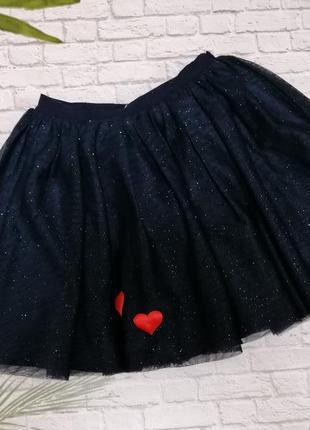 Фатиновая юбка h&m на 6-8 лет
