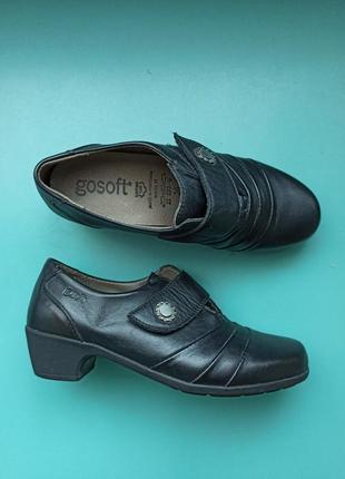 Туфли на широкую ногу  стелька 23 см