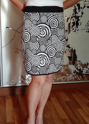 Хлопковая стильная юбка карандаш willi smith
