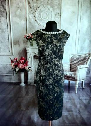 Стильное нарядное вечернее платье миди