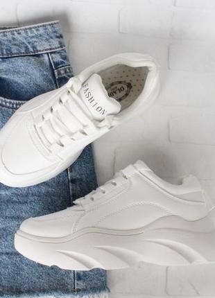 Белые кроссовки, кеды 36, 38, 39 размера