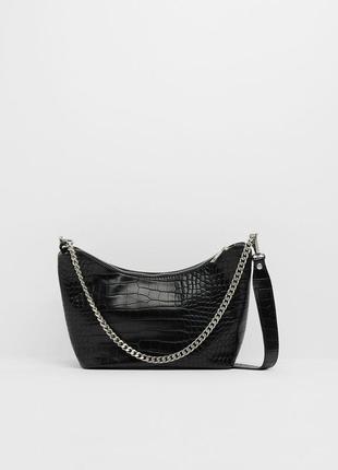 Новая сумка bershka с цепочкой