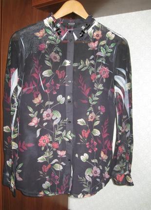 Стильная нарядная блуза guess
