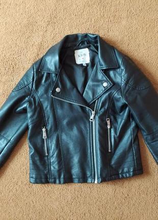 Кожаная куртка m&s