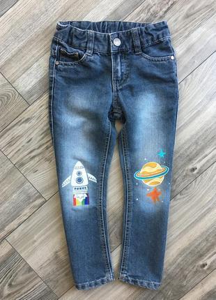Джинси джинсы ракета космос