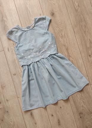 Плаття хб 7-8 років