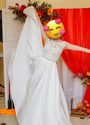Свадебное платье на 42,44,46 р.