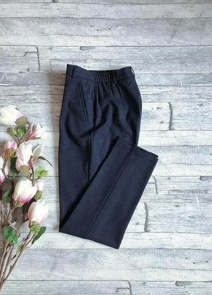 Шикарные шерстяные классические брюки