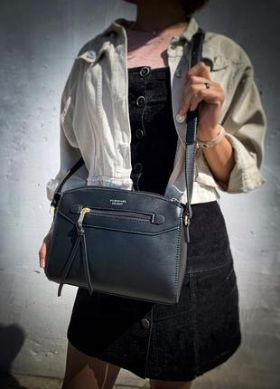 Новая красивая качественная сумка клатч - кроссбоди кожа pu /