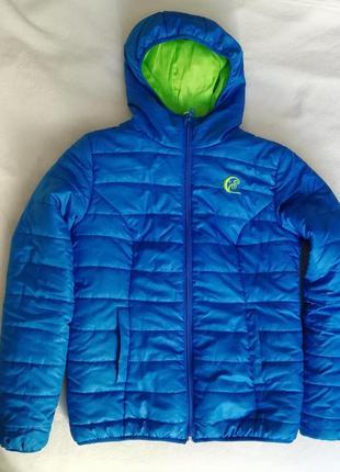 Деми куртка, стеганая куртка на синтепоне осенняя дутая куртка