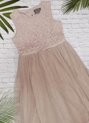 Элегантное нарядное платье creamie на 9 лет