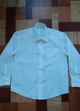Супер белая рубашка с длинными рукавами