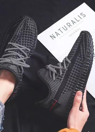 Стильные кросовки с светящимися шнурками