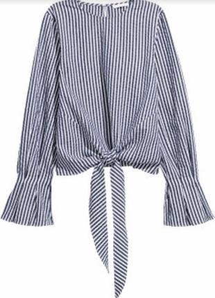 Блуза рубашка тельняшка от h&m