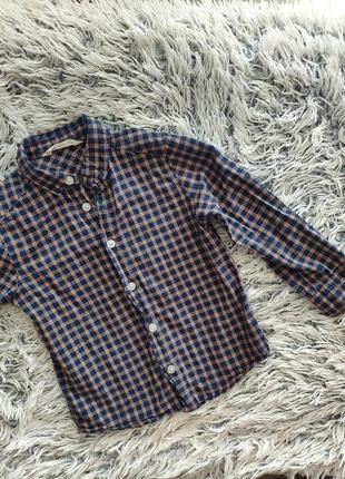 Рубашка h&m 104 3-4 года, 65грн
