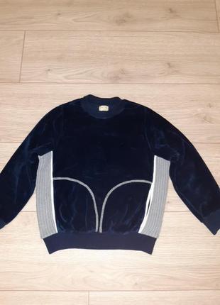 Велюровий свитер